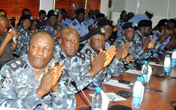 Image result for idris addressing senior nigerian police officers