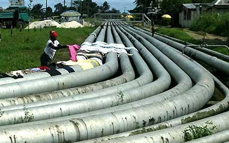 Gas-pipelines