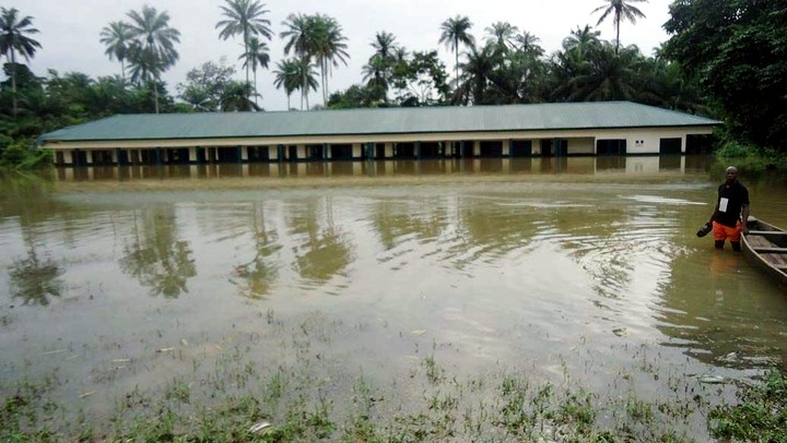 UMON COMMUNITY IN CROSS RIVER FLOODED