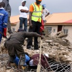 Four injured as building collapses in Abuja