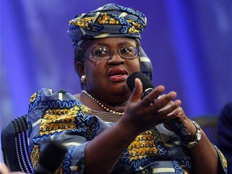 Nigeria's tax revenue ratio to GDP drops, Okonjo-Iweala says