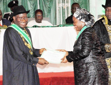 NATIONAL HONOURS AWARD INVESTITURE IN ABUJA 2012 Mary Odili