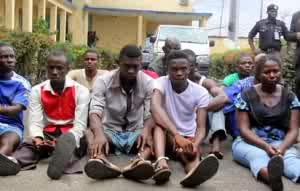 13 Aluu suspects