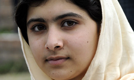 Malala Yousafzai [PHOTO: guardian.co.uk]