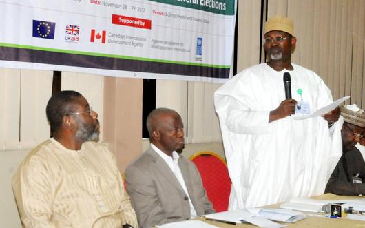 INEC-CIVIL SOCIETY DIALOGUE IN ABUJA