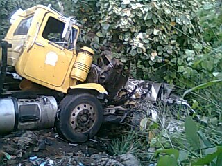 Three people burnt to death in Kogi accident