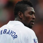 Adebayor helps Spurs hold Chelsea at Stamford Bridge