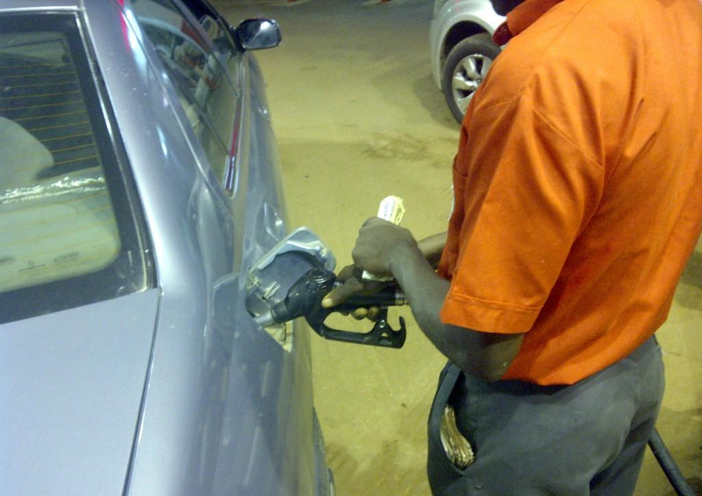 petrol station fuel