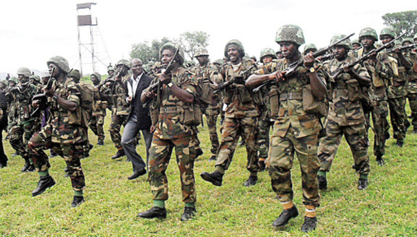 nigerian army deployed to darfur