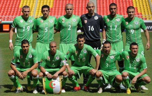 Algeria national football team 2010