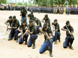 Oyo: Civil Defense parades suspects with human head