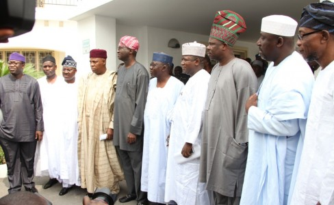 APC Governors 488x300 - APC governors attack Jonathan over alleged constitutional breaches