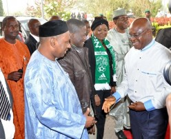 David Mark visit Super Eagles