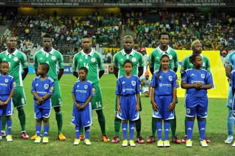 super eagles at Afcon 2013