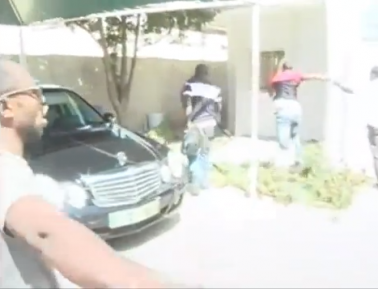 SHOCKING VIDEO: Nigerians Vandalizing Nigerian Embassy In Senegal