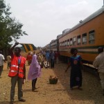 Machete-wielding man attacks train in Lagos