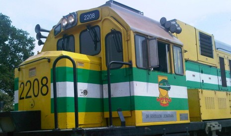 Goodluck Jonathan train