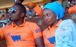 Sadiq Sani and wife