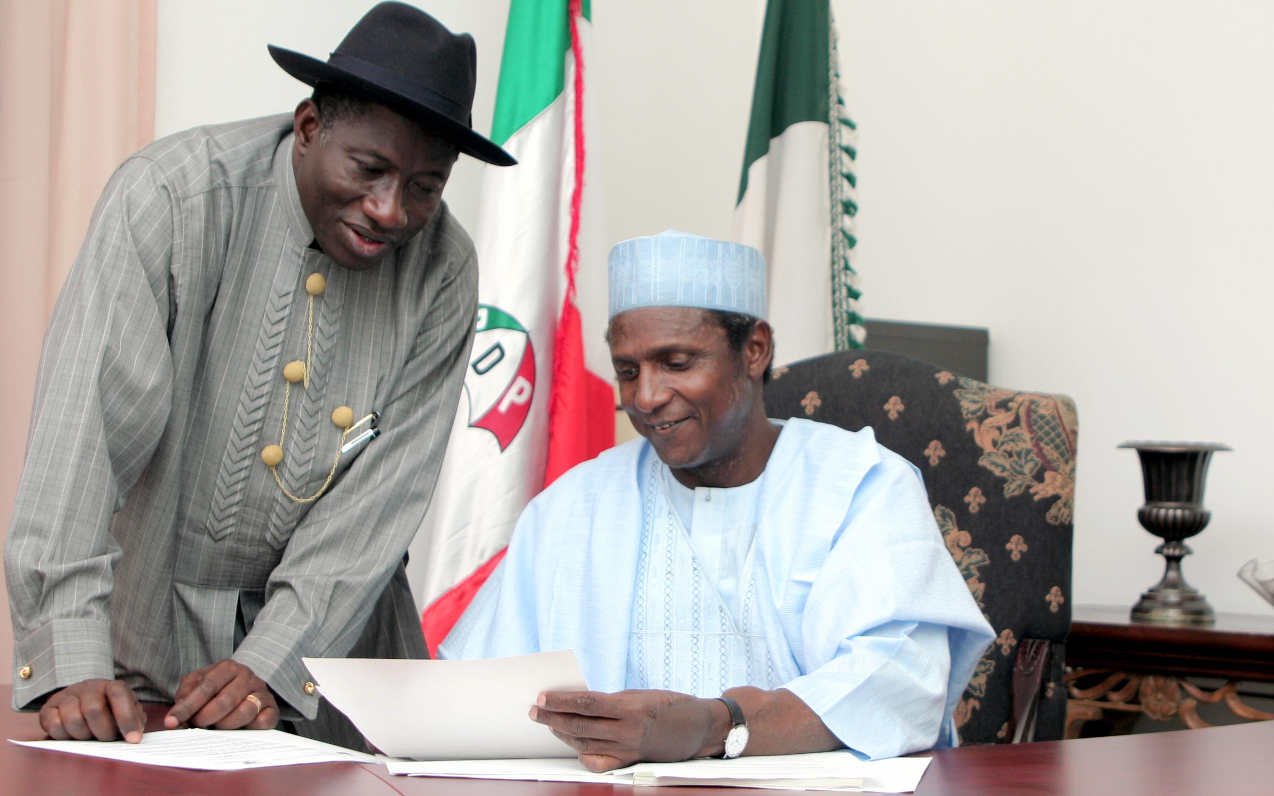 Image result for Goodluck jonathan and Umaru Musa Yar'Adua