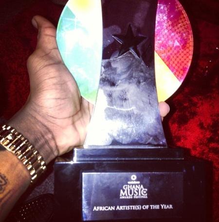 Wizkid award