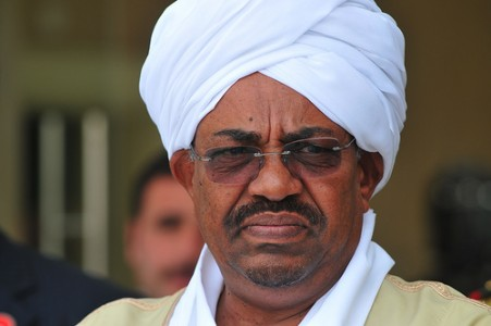 Wanted Leader, Al-Bashir arrives Nigeria to red-carpet welcome