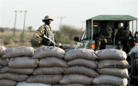 Military attacking Boko Haram