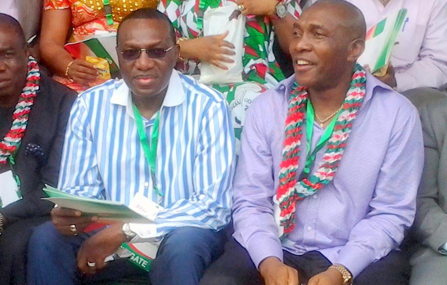 Andy Uba and Chris Uba