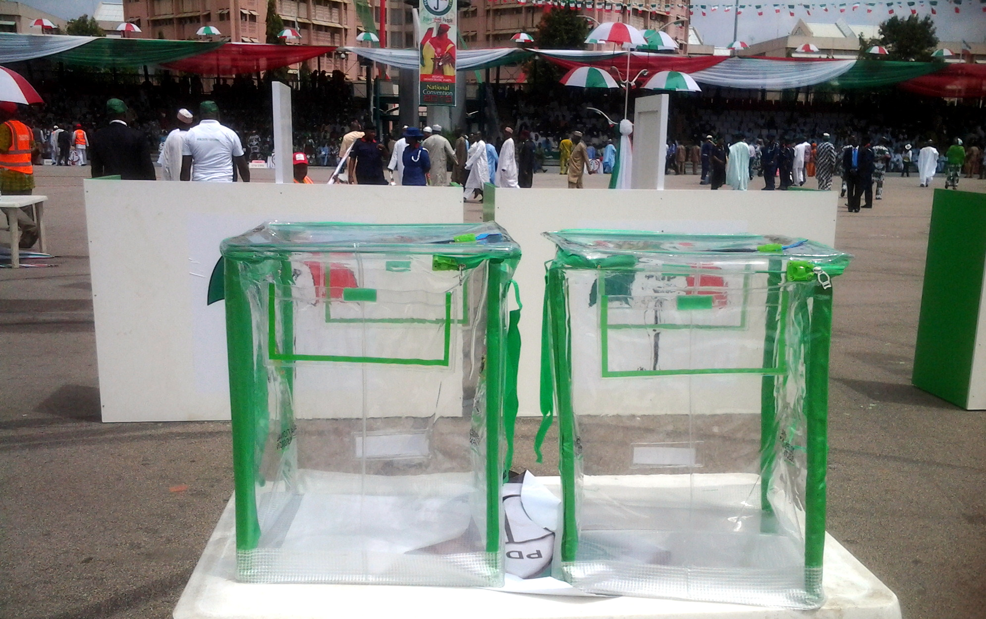 Ballot Box PDP convention - PDP Special Convention – Live Updates