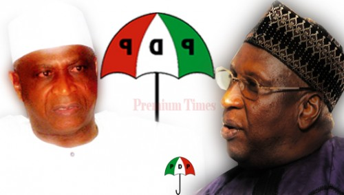 Bamanga Vs Baraje 500x283 - BREAKING News: Stop Parading yourselves as PDP, Court ordered nPDP
