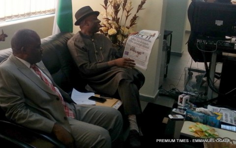 Amaechi and Mr. Mbu