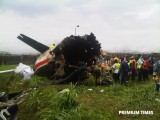13 people dead in plane crash involving aircraft carrying Agagu's body