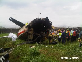 Agagu plane crash2
