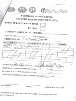 """NCAA BMW Page 02 265x349 - Aviation officials claim N255 million ministerial car scandal is """"all rumours"""""""