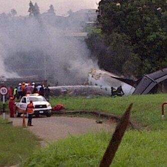 Plane Crash by Lanre Yusuf