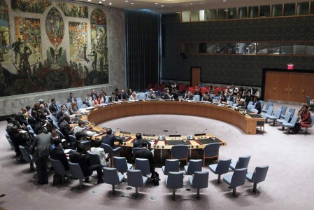 Wide view of the Security Council. UN Photo/JC McIlwaine (file photo)