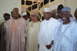 IBB, Akilu, Governor Wada storm Maiduguri for wedding ceremony