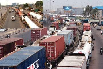 Image result for oil tankers at apapa Wharf