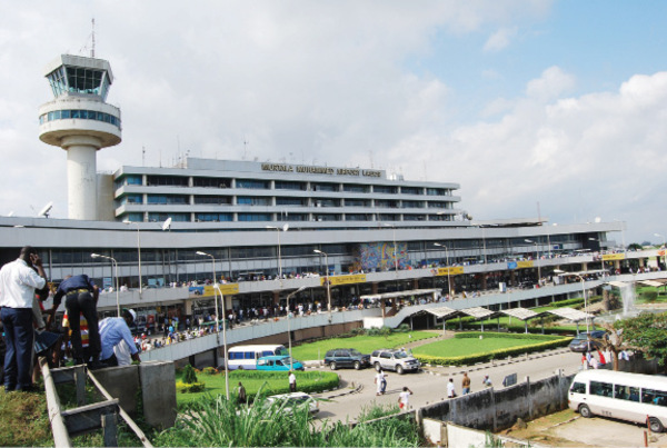 Аэропорт Лагос Муртала Мухаммед (Lagos Murtala Muhammed International Airport).