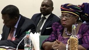 Finance Minister, Ngozi Okonjo-Iweala