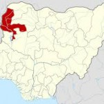 Kebbi state on th enigerian map