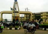 ASUP Strike: Ibadan Polytechnic students protest, issue 24 hours ultimatum
