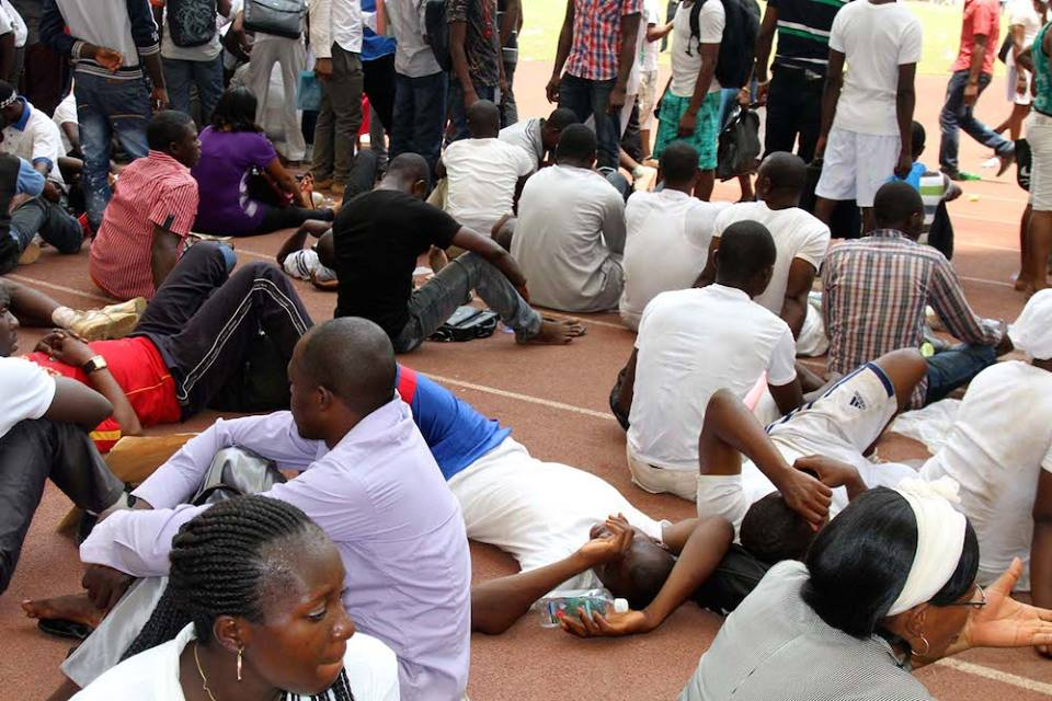 Immigration Test Centre, Abuja ..... Photo: Courtesy unidentified reader