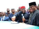 Achebe, Nnamani, others hail Jonathan over 2nd Niger Bridge