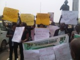Protesters demand justice for murdered school children in Yobe