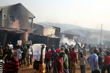 40 stalls burnt in Abuja market fire