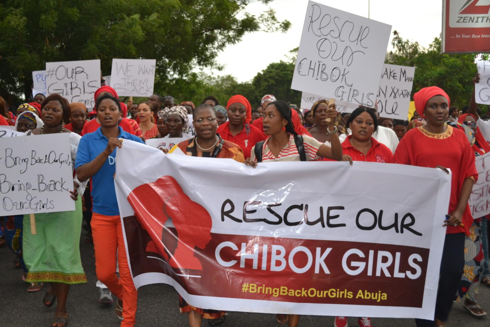 chibok protest