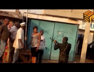 Nigeria police officer caught on camera brutalizing women