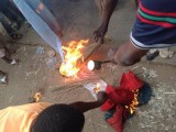 Kano youth burn red caps in support of Shekarau