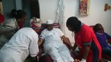 Abuja explosion: Tambuwal, Saraki donate blood to victims