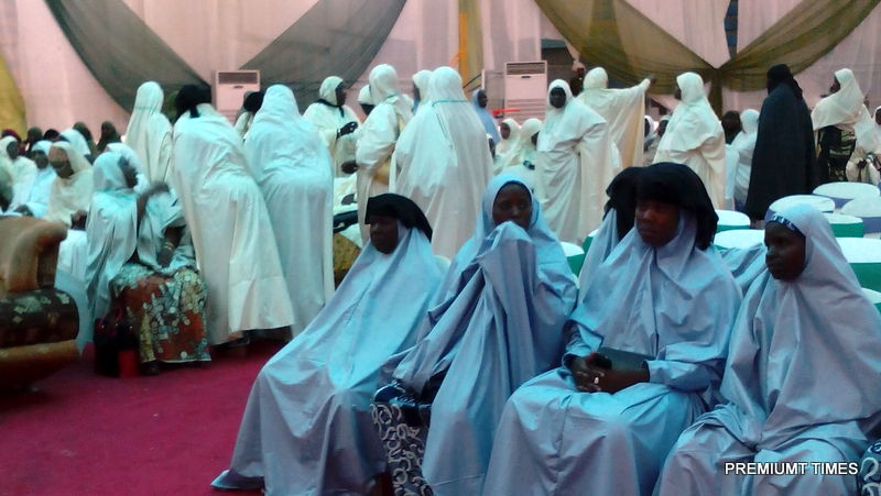brides at the kaduna mass wedding